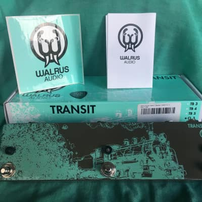 Walrus Audio Transit 3 CLICKLESS Transit Train for sale