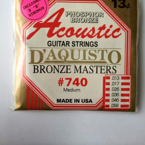 D'Aquisto Acoustic Bronze Masters 740M for sale