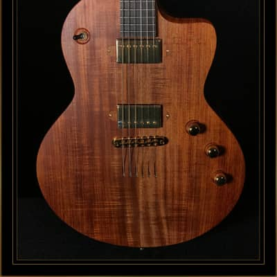 Lowden GL-10 with Tasmanian Blackwood Top and Lollar Humbuckers in Satin Natural for sale
