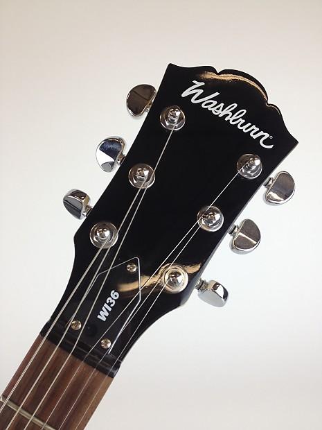 washburn wi36 electric guitar 2006 sunburst reverb. Black Bedroom Furniture Sets. Home Design Ideas