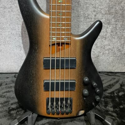Ibanez Ibanez SR505E Bass Guitar - Surreal Black Dual Fade for sale