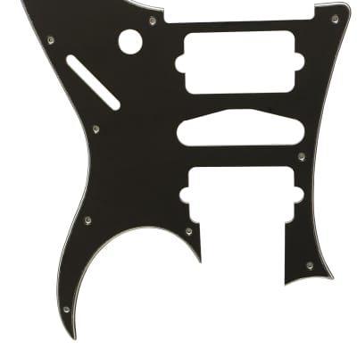 For Ibanez 3-Ply RG 770 DX Style Guitar Pickguard Scratch Plate, Black