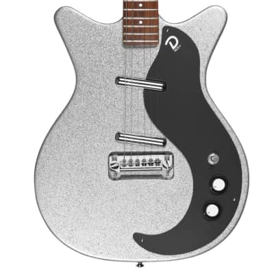 Danelectro '59M NOS+ 60TH Anniversary Edition | Silver Metalflake