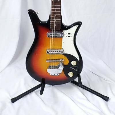 Vintage 1964 Teisco Del Rey ET-200 Electric Guitar, Just Serviced & Upgraded Tuners Installed!