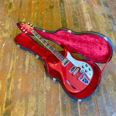 Kustom K-200 electric guitar c 1968 Cherry Red original vintage USA bud Ross for sale