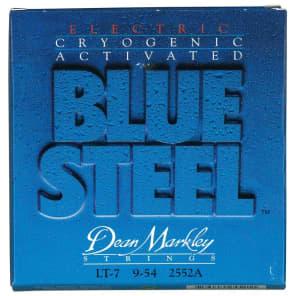 Dean Markley 2552A Blue Steel 7-String Electric Guitar Strings - Light (9-54)