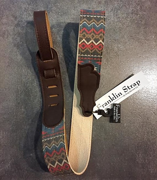 a99140d31421b Franklin Strap CD1-BLR-CH Old Aztec Graphic Electric Guitar | Reverb