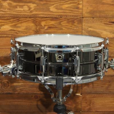 "Ludwig LB418 Black Beauty Super-Sensitive 5x14"" Brass Snare Drum 1994 - 2016"