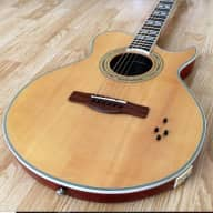 Rare Natural Finish-Samick Greg Bennett Cheyenne SMJ 10 Solid Body Acoustic Electric Exc/ Near Mint for sale