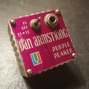 Dan Armstrong Purple Peaker for sale