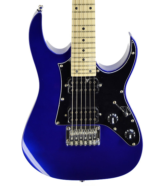 ibanez grgm21m gio mikro half size electric guitar blue reverb. Black Bedroom Furniture Sets. Home Design Ideas