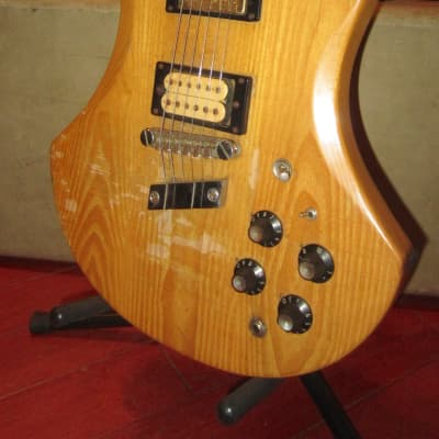 Vintage 1981 Guild S-300 A-D Electric Solidbody Natural for sale