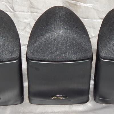 Mirage NANO BLK 5.0 5 piece surround satellite speaker set