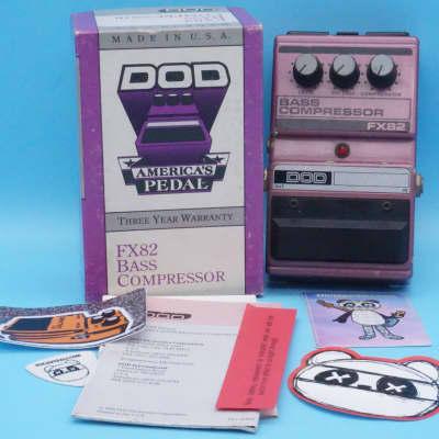 DOD FX82 Bass Compressor w/Original Box | Made in USA | Fast Shipping!