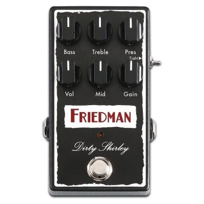 Friedman  Dirty Shirley Overdrive Guitar Effects Pedal - 763815129822