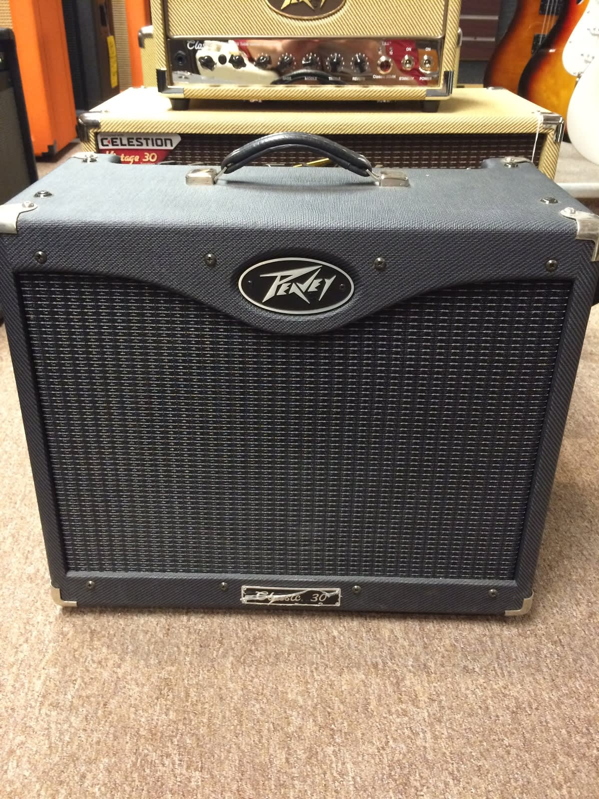 peavey classic 30 black tolex made in usa link 39 s music reverb. Black Bedroom Furniture Sets. Home Design Ideas