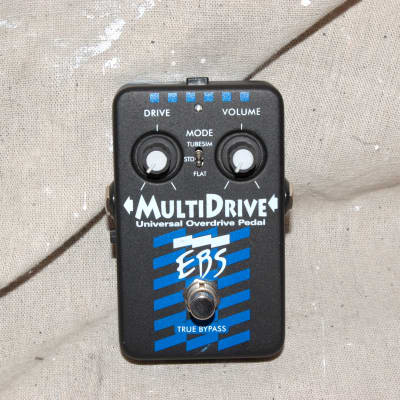EBS MultiDrive Universal Overdrive Pedal Class A distortion multi drive