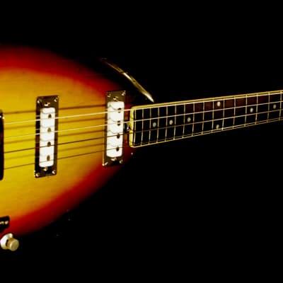 Vox PHANTOM MARK IV TEARDROP BASS 1966 Sunburst COLLECTIBLE. RARE. for sale