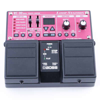 Boss RC-30 Loop Station Guitar Effects Pedal P-07738