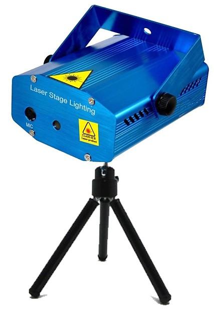 mr dj lz 100 sound activated multi pattern mini laser projector stage lighting adjustment dj disco ktv party club