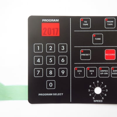 Membrane Switch Pad S-061 for Sequential Circuits Prophet 600
