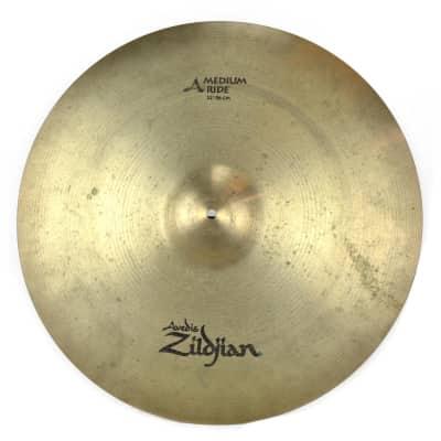 "Zildjian 22"" A Series Medium Ride Cymbal 1982 - 2012"