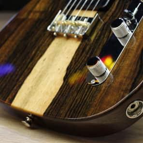 Fender Exotic Fsr Malaysian Blackwood Tele 90 Nat  2017 for sale