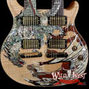 2005 PRS Paul Reed Smith 20th Anniversary Double Neck Dragon #6 Natural