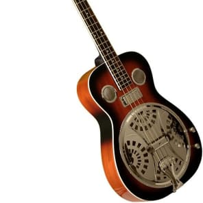 Gold Tone PBB Paul Beard Resonator Bass Guitar with Hard Case 6.8 lbs. for sale