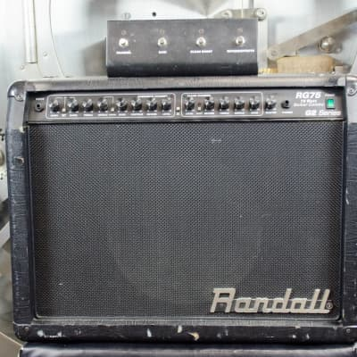 Randall RG75 G2 w/ Footswitch image