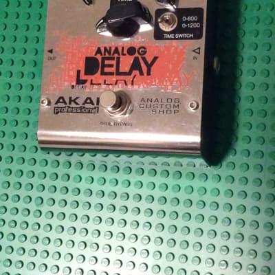 Akai  Professional Analog delay  2010 Chrome for sale