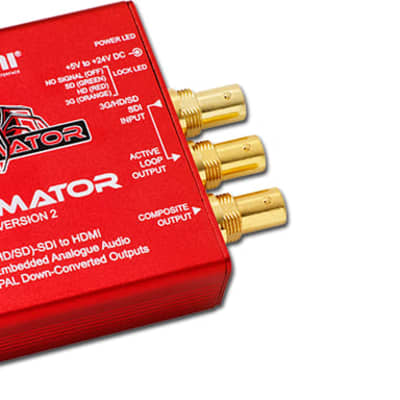 Decimator Design DECIMATOR 2 3G/HD/SD-SDI to HDM Converter
