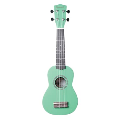 Savannah Color Ukulele with Bag, Green for sale
