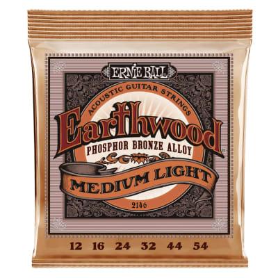 Ernie Ball Phosphor Bronze Acoustic Strings - Medium Light