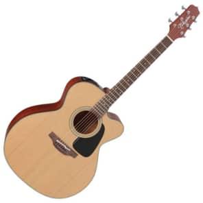 Takamine P1JC Pro Series 1 Jumbo Cutaway Acoustic/Electric Guitar Natural Satin