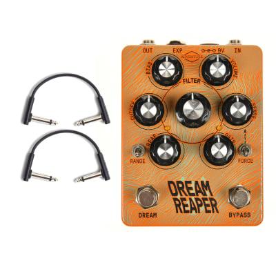 Adventure Audio Dream Reaper Fuzz Modulation Machine w/RockBoard Flat Patch Cables Bundle