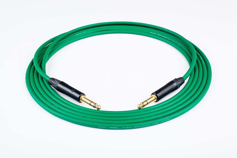 2' Mogami 2534 Quad Balanced Cable Neutrik Gold 1/4