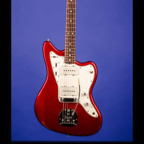 Fender Jazzmaster 1965 Candy Apple Red with Matching Headstock