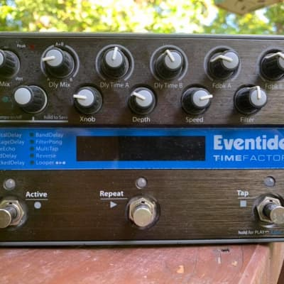Eventide TimeFactor w/T1m Aux Switch