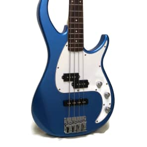 Peavey Milestone 4-String Electric Bass Gulf Coast Blue Sparkle