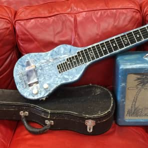 Dickerson Lap Steel Guitar & Matching Amp for sale