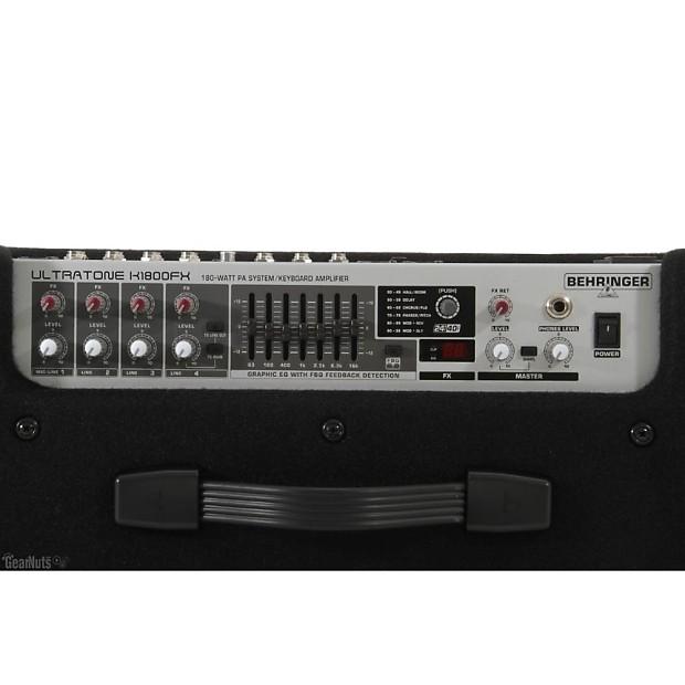 behringer ultratone k3000fx guitar amp keyboard amp 4 reverb. Black Bedroom Furniture Sets. Home Design Ideas