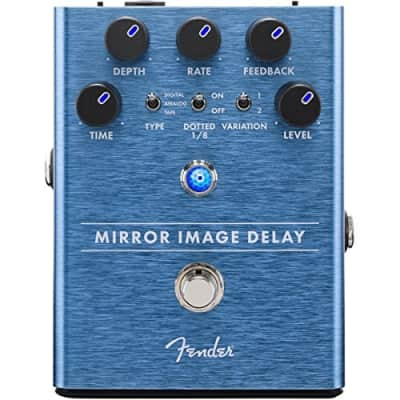 Genuine Fender Mirror Image Delay Electric Guitar Effects Stomp-Box Pedal for sale