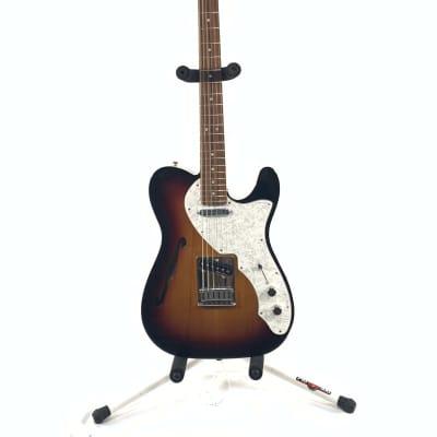Fender Deluxe Telecaster Thinline 3-Color Sunburst