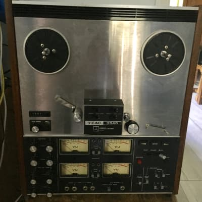 TEAC 3340 10.5 Inch 4 channel stereo quadrophonic reel to reel tape deck recorder
