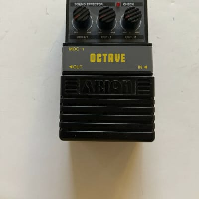 Arion MOC-1 Octave Analog Octaver Vintage Guitar Effect Pedal for sale