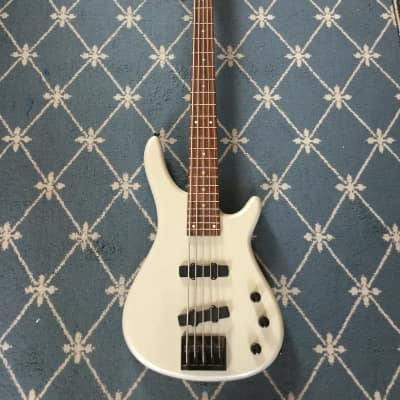 Galveston 5-String Bass Newer Silver Sparkle for sale
