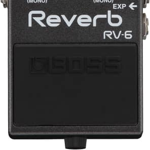 Boss RV-6 Reverb Digital Reverb Pedal for sale