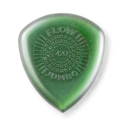 Dunlop 547R42 Flow Jumbo 4.2mm Guitar Picks (12-Pack)