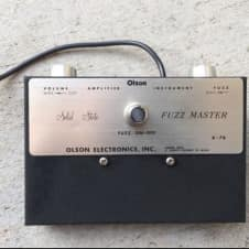 Olson Fuzz Master 1960's Black